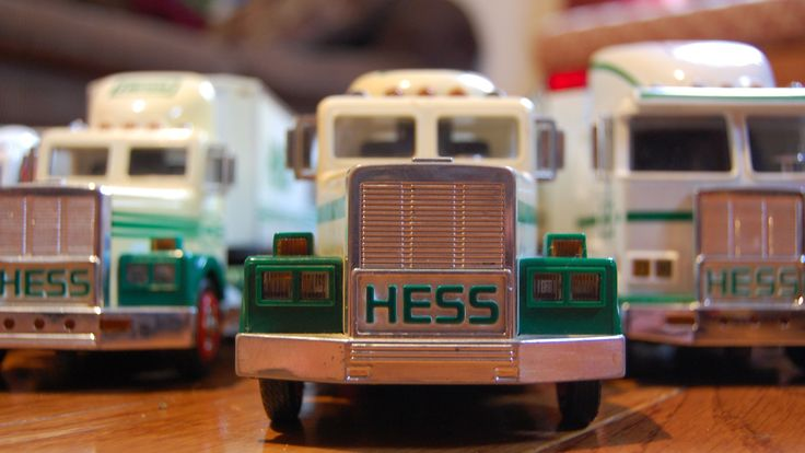 Hess' Toy Trucks have become an enduring tradition