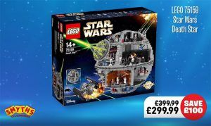 Smyths Reduce LEGO Death Star Down To £299.99 Star Wars Collection