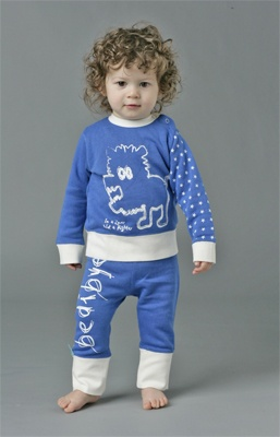 Ergo Pouch Bamboo Pyjamas - (My gorgeous baby modelling them!)