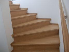 Dřevěné schody - Simek-interier