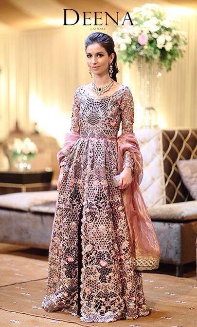 Deena Rahman bridal gown Pakistan.