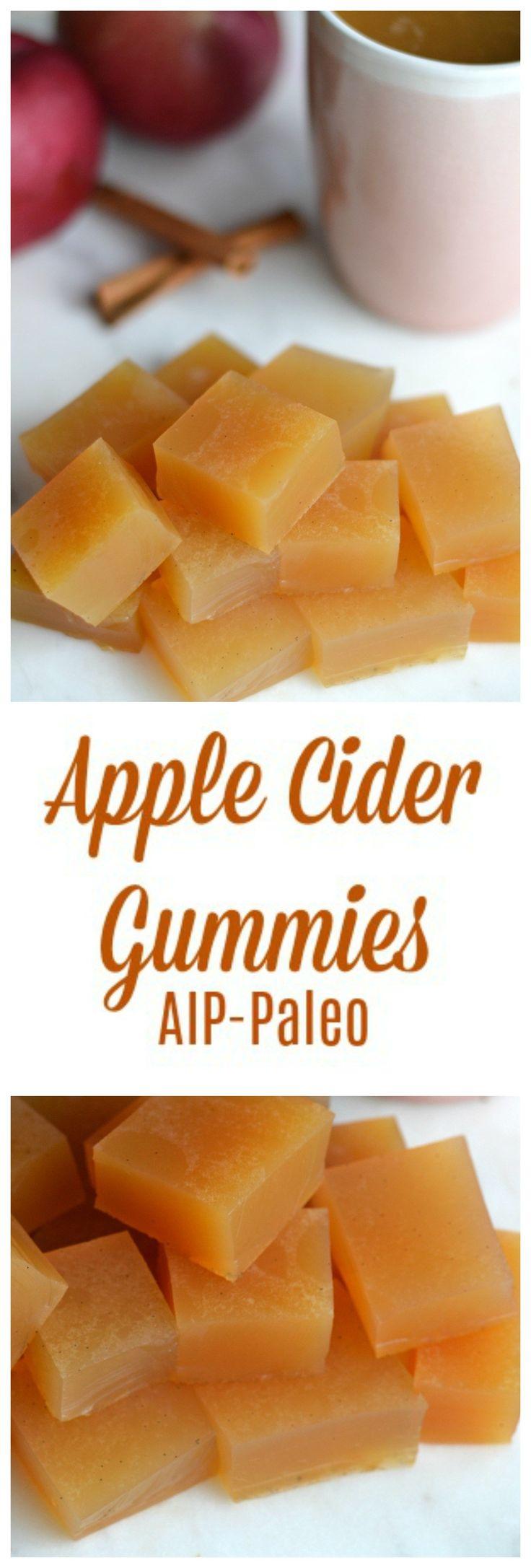 Apple Cider Gummies (AIP/Paleo) | Lichen Paleo, Loving AIP