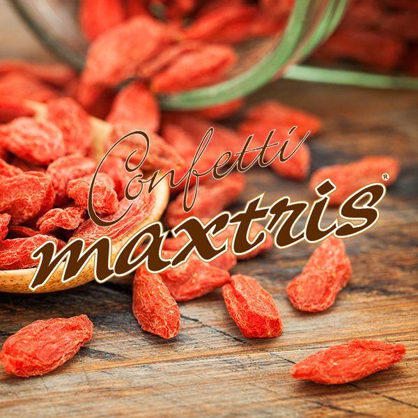 #confetti #maxtris #goji #berry #dried #fruit #healthy
