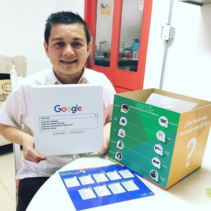 Muchas gracias @google por todo el apoyo #Gratitude . . . Qué es lo más buscado en el 2016? . . . #travel #tourism #entrepreneur #success #motivation #love #inspiration #marketing #life #work #happy #hustle #photooftheday #people #startup #socialmedia #Panama