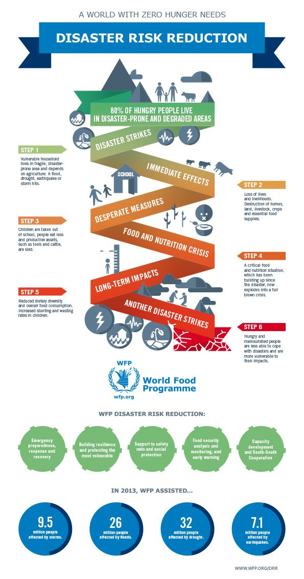 A world with #ZeroHunger needs disaster risk reduction.