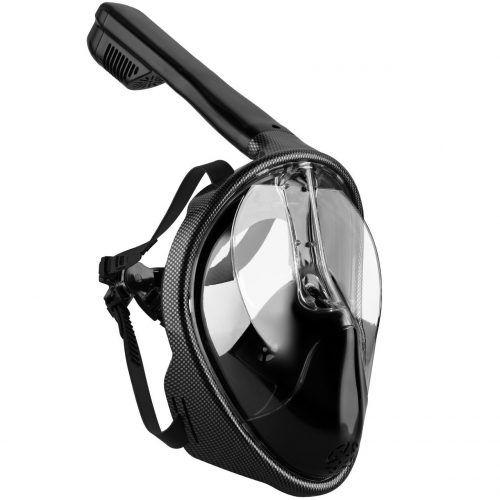 Máscara de Buceo Visión 180 ° Omorc por 34.99€  Tecnología de tubo superior seco deja de agua salada en la boca y la nariz. Con esta máscara de snorkel tubeless, no tendrá que lidiar con un snorkel de tubo en la boca.    #buceo #chollo #descuento #mascara #oferta