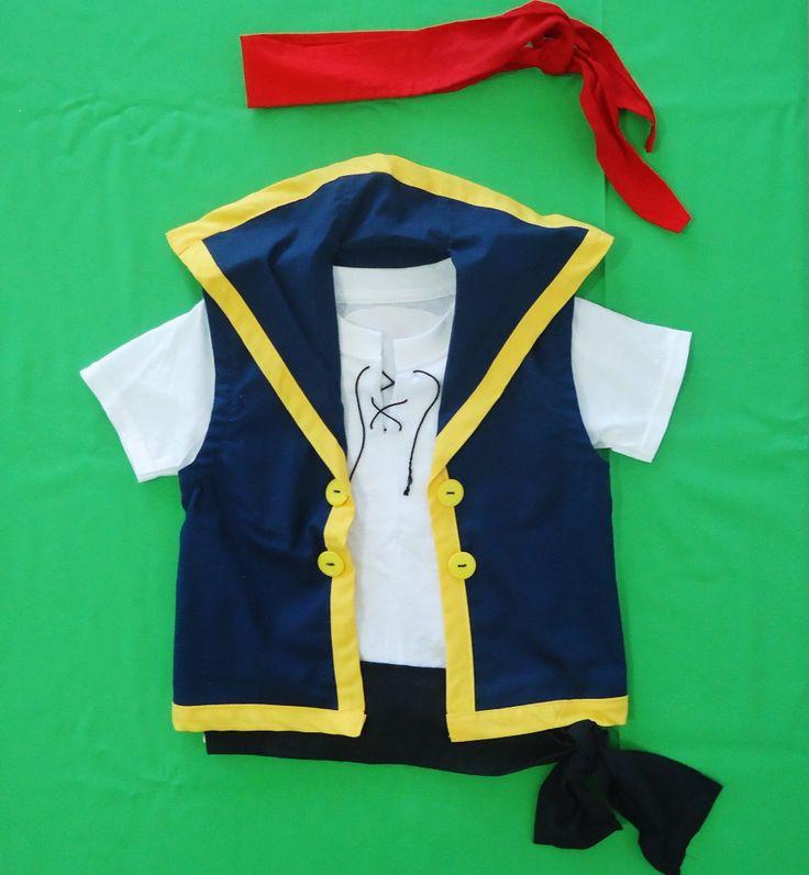 Jake and the neverland pirates costume pattern