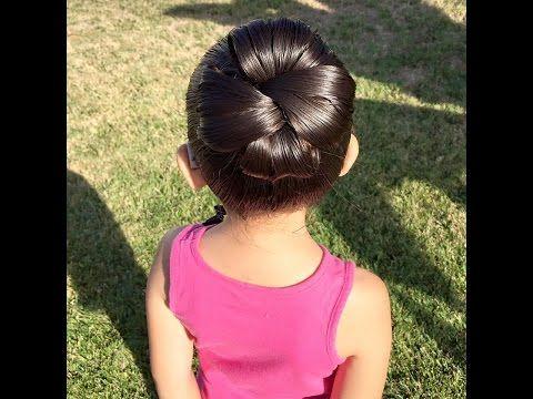 Twisted bun / Moño retorcido - YouTube