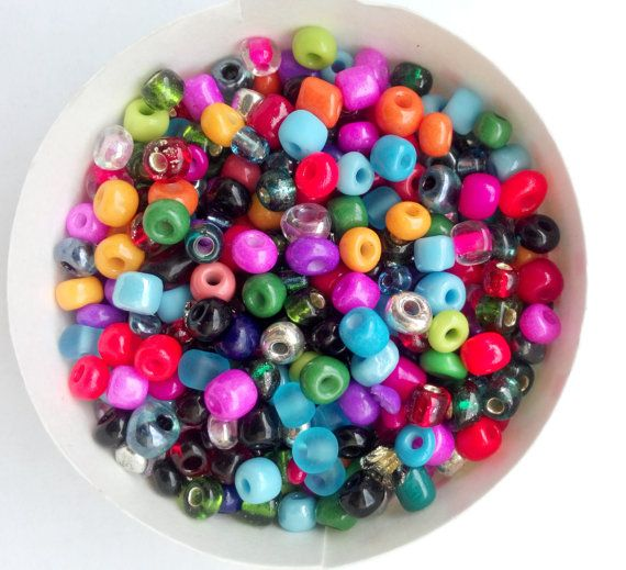 21 g  320 Beads 6/0 TOHO Mixed Color Round Beads by FoxyBeadsCo, $1.50