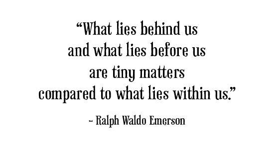 Ralph Waldo Emerson - 2010 theme