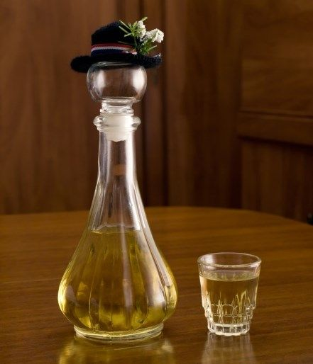 rakija   No drinking for me but I like that this has a little hat! hah
