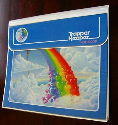 Trapper Keepers! I had one that had a pegasus on it.....or was it a unicorn??