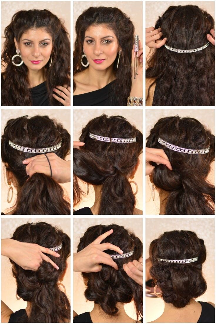 Chic And Easy Hairstyle Hairstyle To Do At Home Fauxhawk Updo F
