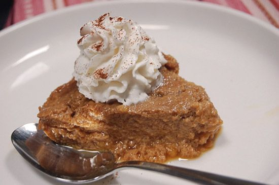 """Indian Pudding -- had a yearning for this recently; ought to see if there's a way to """"healthify"""" it."""
