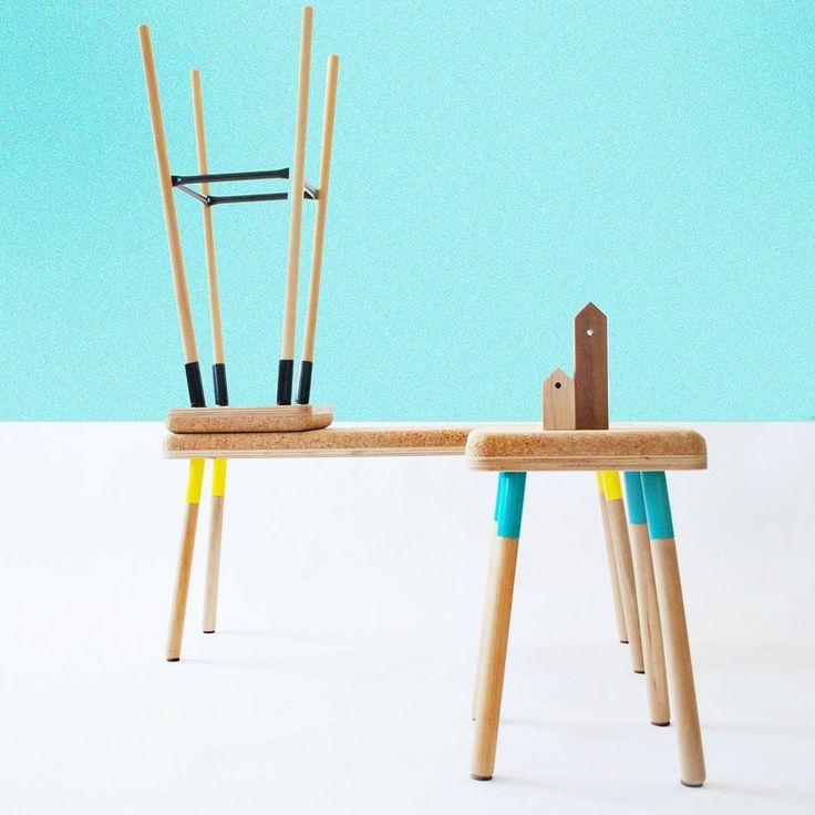 What materials make you think of summer? Cork definitely tops our list.    #ubikubi #cork #design #designer #designinspiration #productdesign #homedecor #decor #interiordesign #furniture #modern #contemporary #minimalist #minimalism #wood #stool #bench #contemporarydesign #style #stylish #turquoise #summer #modernhome
