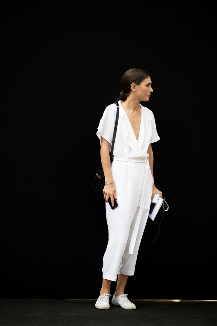 The Sneaker Of The Summer Is Meant To Be Messed Up #refinery29  http://www.refinery29.com/white-sneakers#slide5  All white? All right.