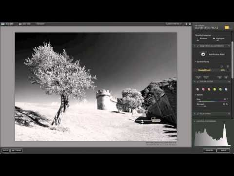 Photography Tutorial - Black and White conversion using Nik's Silver Efex Pro 2