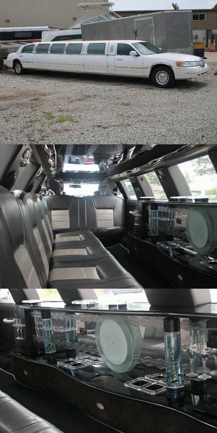 Minor Issues 2002 Lincoln Town Car Stretch Limouisne Lincoln Town Car Limousine Car