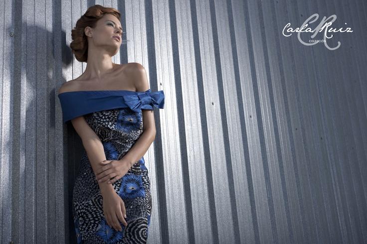Vestido de Cocktail de Carla Ruiz 2012 - Modelo 86309