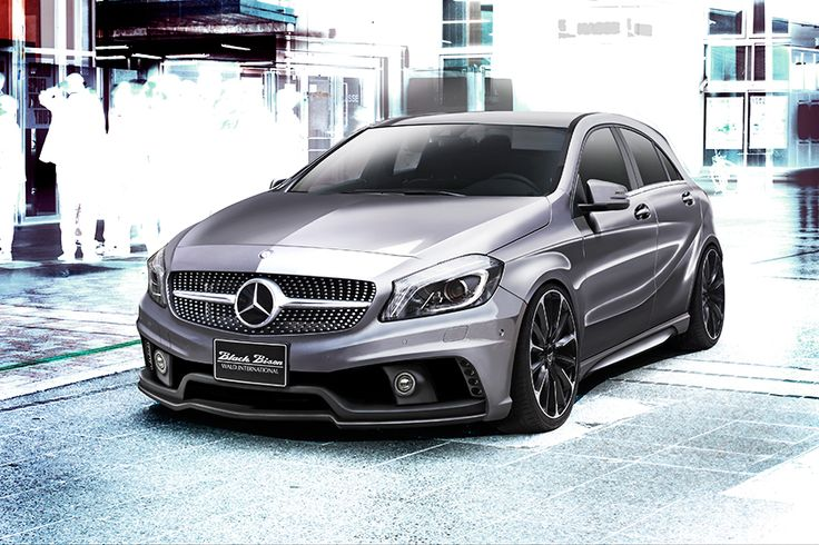 Wald Mercedes Benz A-class W176 Sports Line Black Bison Edition