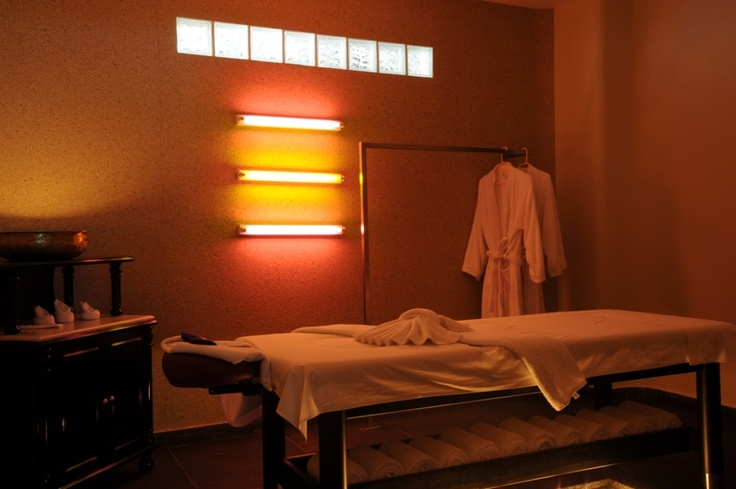 A Spa Hotel in the center of Fira.  Spa holidays in Santorini. The luxury spa center @Aressana Spa Hotel in Santorini offers couples spa packages that are truly world class.