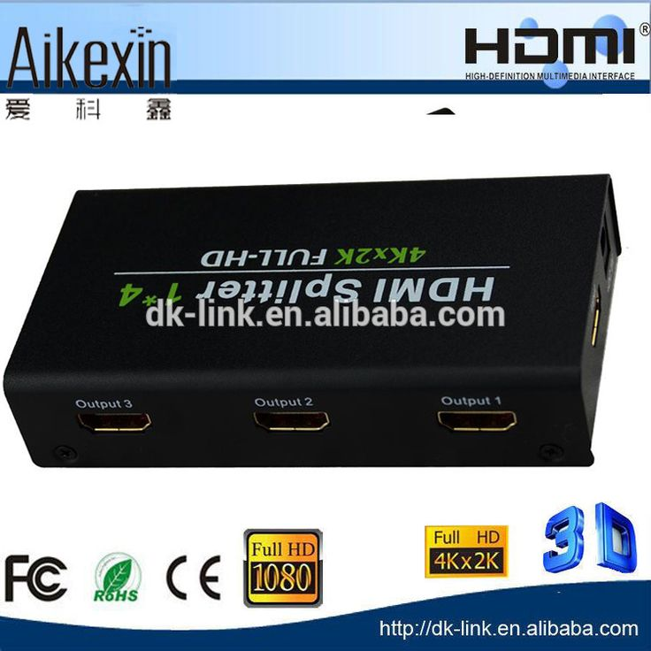 Check out this product on Alibaba.com App:Ultra HD 4K HDMI Splitter 1x4 1080p, 1 in 4 out HDMI 1.4 Splitter 4 Port HDMI Splitter https://m.alibaba.com/M73Mra