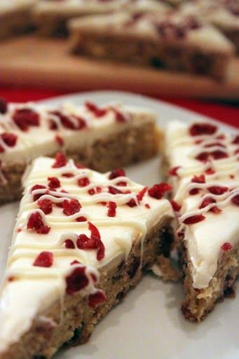 Starbucks Cranberry Bliss Bars - I think my husband married me because of these lol ;)