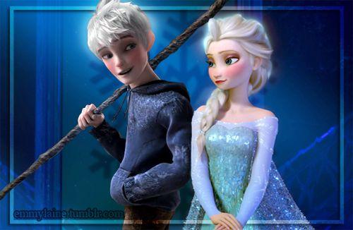 elsa and jack | Elsa Jack Frost