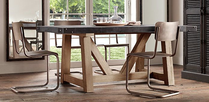 22 best Dining Table Ideas images on Pinterest Dining  : a1d2ee4498d5695c61e40a50d4d1daca table bases dining tables from www.pinterest.com size 696 x 342 jpeg 56kB