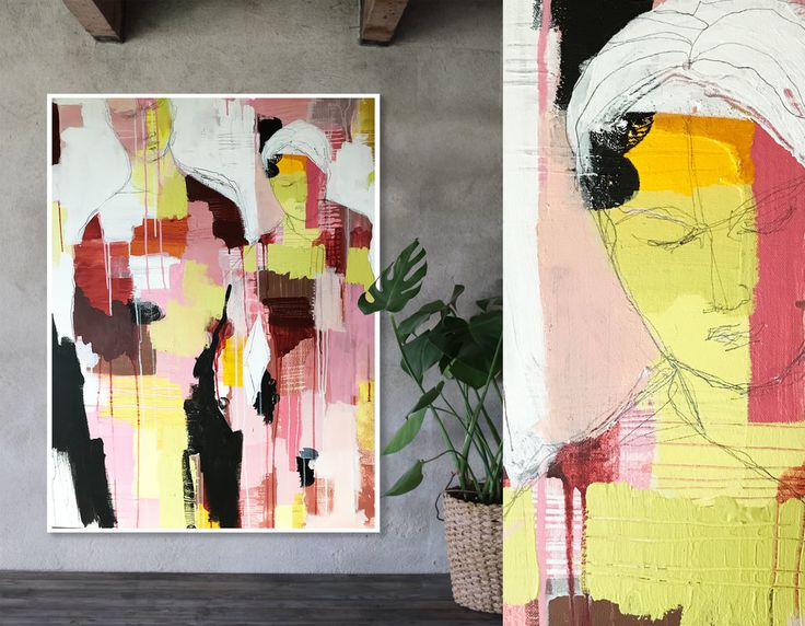 """Art by Anette Carlsson Moberg  www.patternplan.se """"so this is goodbye"""""""