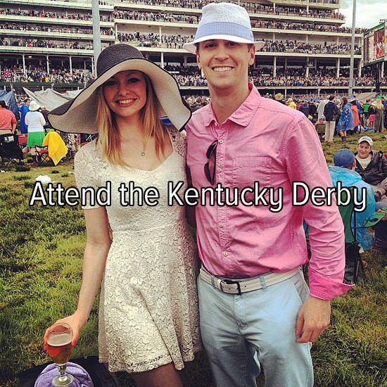 Bucket list: attend the Kentucky Derby.