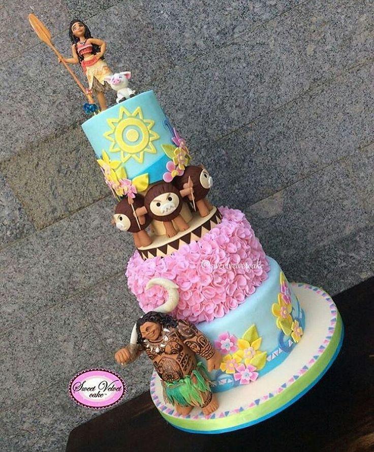 40 besten vaiana torte bilder auf pinterest - Geburtstags ideen ...