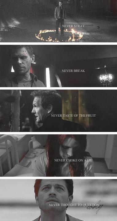 All the Angels! The best and the worst. Gotta say I love Gabriel&Balthazar. They were both so sassy.