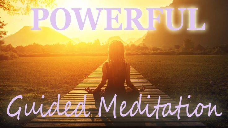 New Powerful Guided Meditation ~ Positive Energy ~ Healing ~ Relaxation