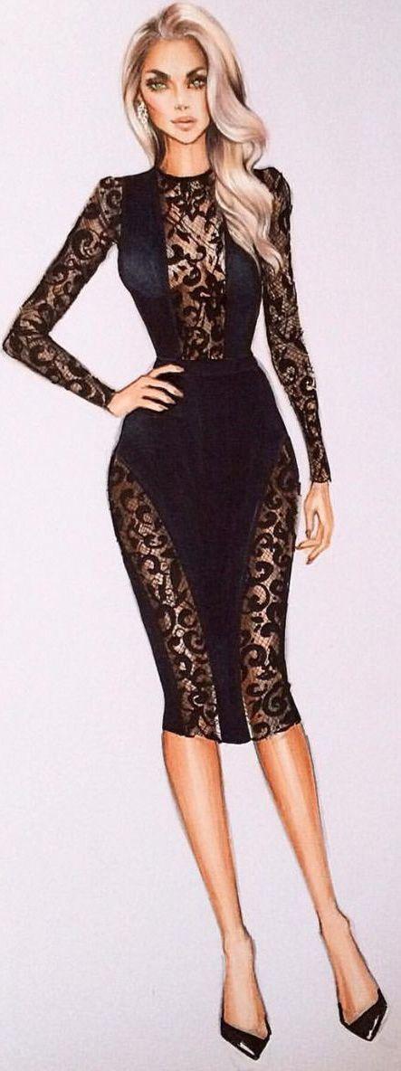 @iriskapirogova / Fashion Illustration                              …