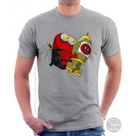 Deadpool Minion Mens Unisex T-Shirt