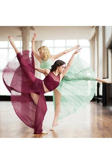 We're so proud that the Dancewear Solutions' Team captured this beauty in motion! See these beautiful lyrical skirts on our site.