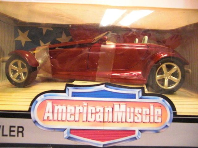 ERTL American Muscle diecast 1/18 cast Plymouth Prowler NIB #Plymouth