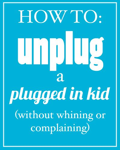 Limit your kid's screen time without whining or complaining - implementing this TODAY!