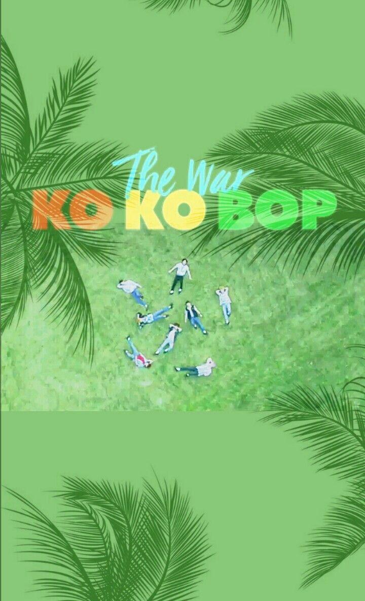 EXO KO KO BOP LOCKSCREEN #exo #Lockscreen #theWar #2017 #kokobop