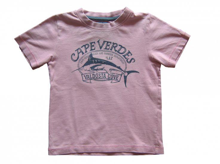 Maat 104 T-shirt Roze met print  Merk H&M