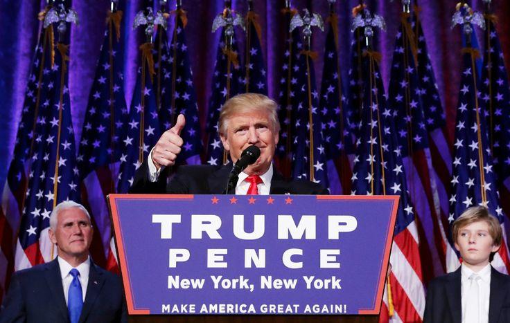 Donald Trump, nouveau président des États-Unis