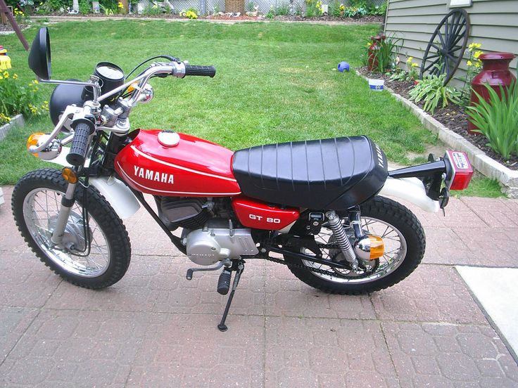 17 best images about yamaha gt80 my first bike on for Yamaha mx 80 for sale