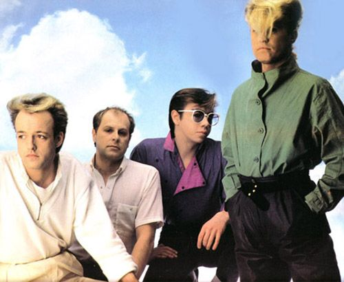 A Flock of Seagulls! Another thing nostalgia would have us believe was much more popular than it really was.
