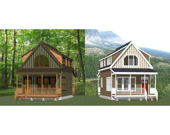 1000 images about tiny houses on pinterest loft for 18x30 house plans
