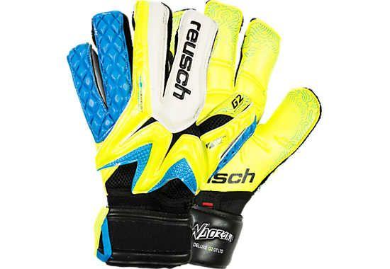 Reusch Waorani Deluxe G2 Ortho-Tec LTD Goalkeeper Gloves - Safety Yellow