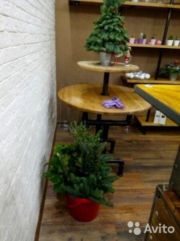 Демонстрационный стол в стиле лофт. Дубовый массив, фитинги и водопроводные трубы. Прекрасно впишется любой интерьер, демонст...