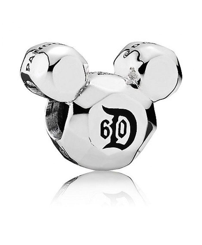 Pandora Disney Mickey Mouse Disneyland 60th Anniversary Charm Pandora Charms Disney Disneyland 60th Anniversary Pandora Mickey Mouse