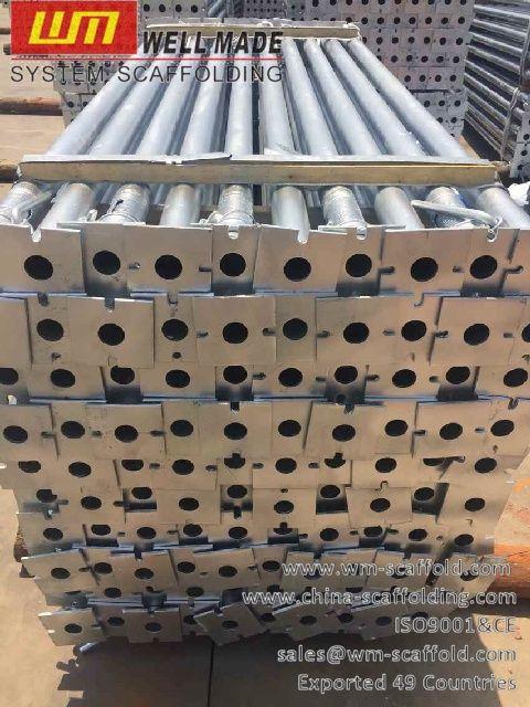 Formwork Scaffolding Materials: Galvanized Construction Concrete Formwork Slab Ste...