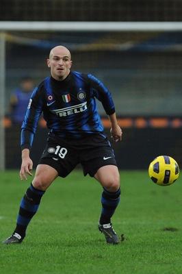 Esteban Cambiasso con el Inter